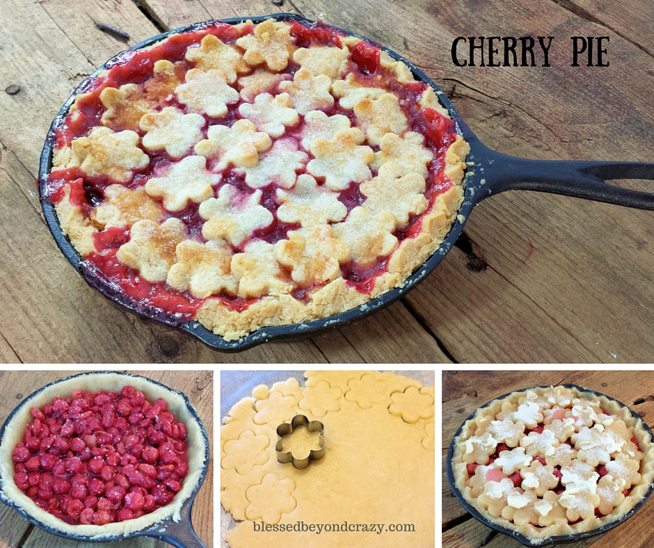 Skillet Fruit Pies 6