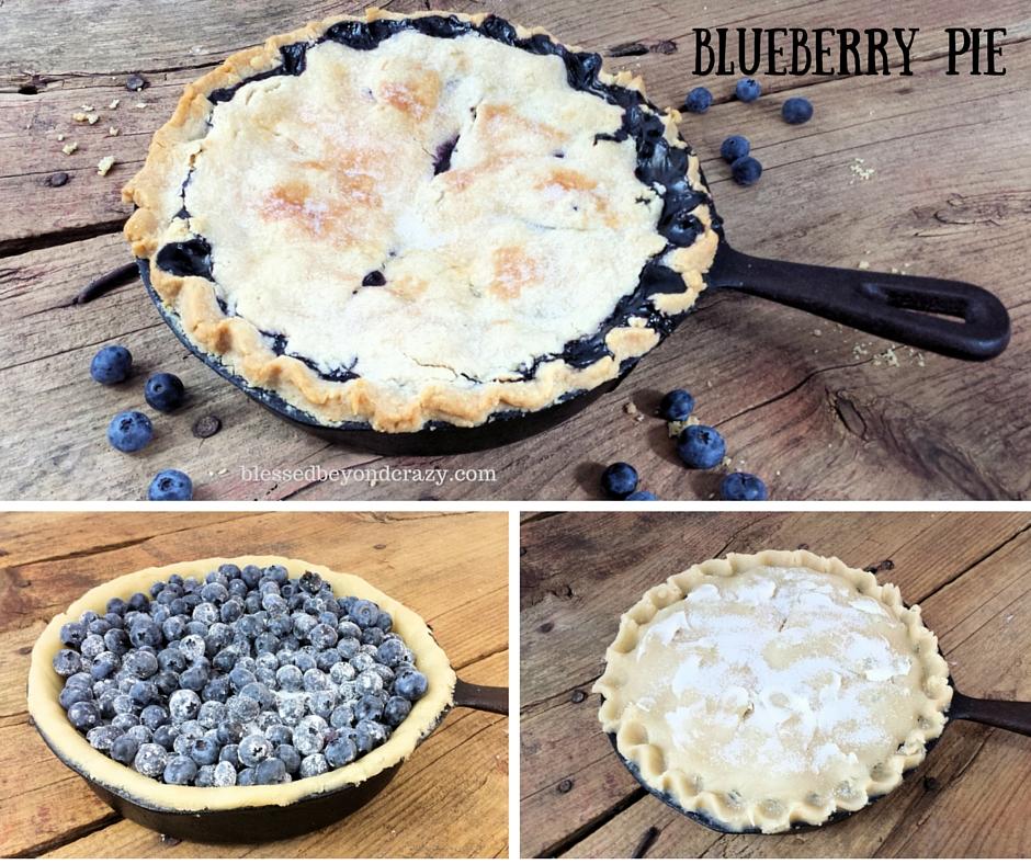 Skillet Fruit Pies 4