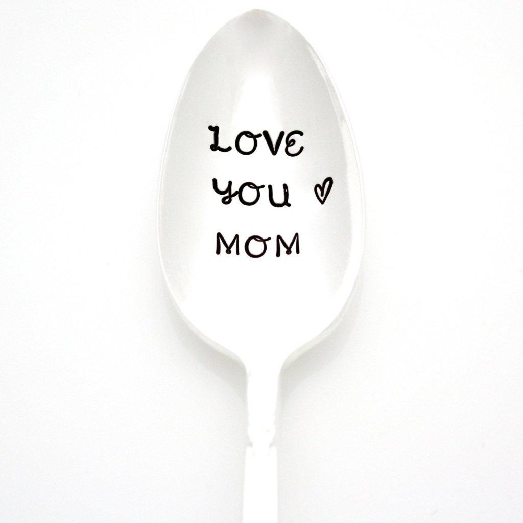 Love You Mom Spoon