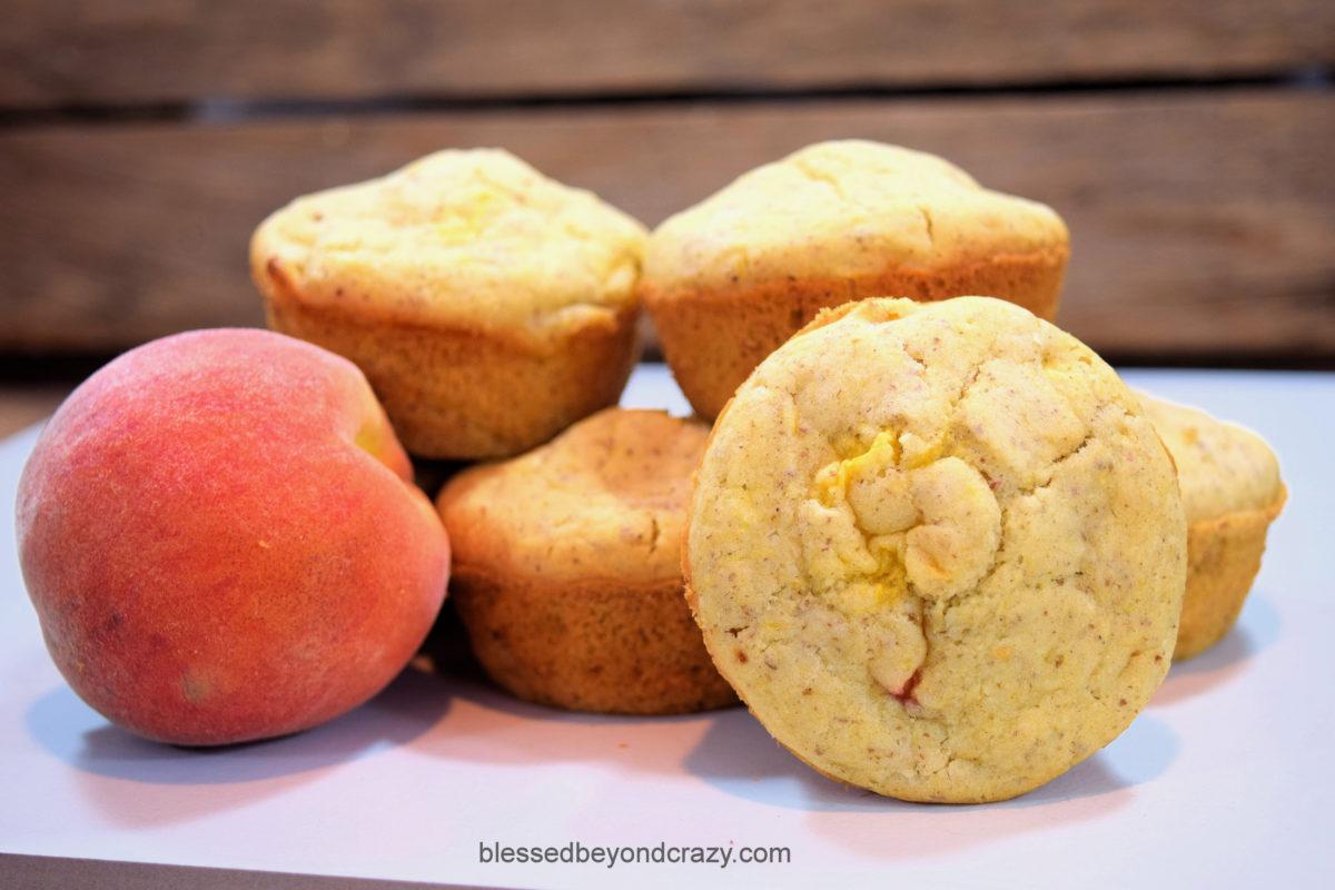Peachy Peach Muffins GF 1