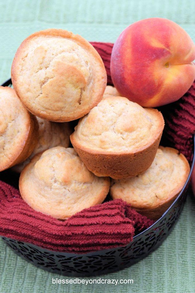 Peachy Peach Muffins 1