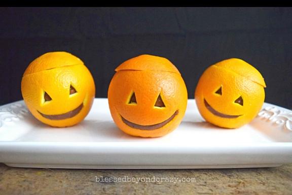 Orange Pudding Jack-O-Lanterns (1)
