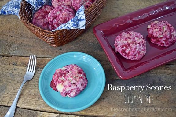 Raspberry Scones (3)