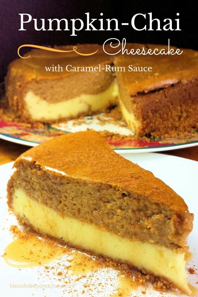 Pumpkin-Chai Cheesecake 2