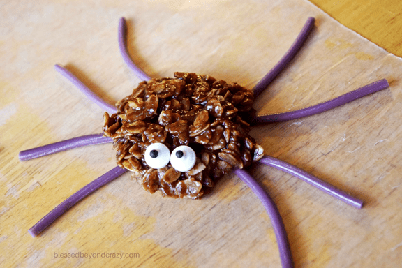 spider-cookie-no-bake
