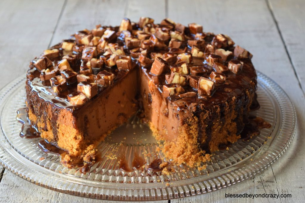 Snickers Cheesecake 8