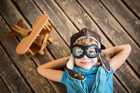 Air Plane Retro Inspired Kids Photo Shoot