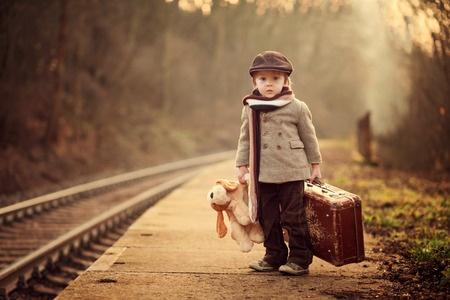 The Traveler Retro Inspired Kids Photo Shoots