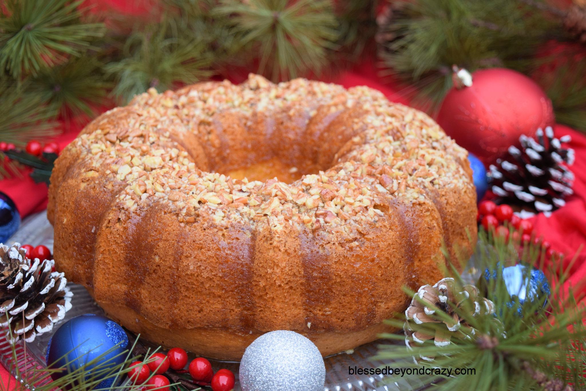 Classic Holiday Rum Cake 5