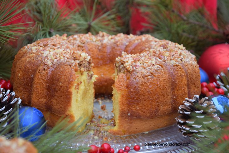 Classic Holiday Rum Cake