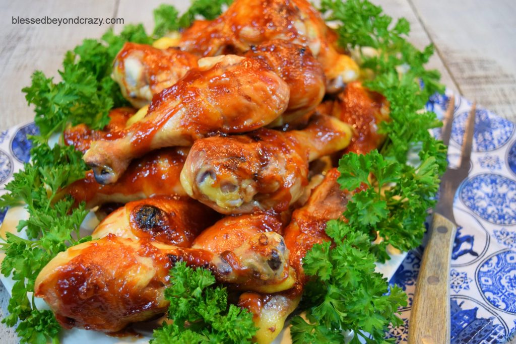 Baked BBQ Chicken