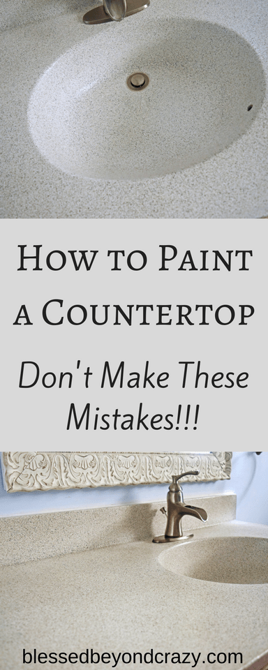 How to Paint a Countertop Don't Make These Mistakes