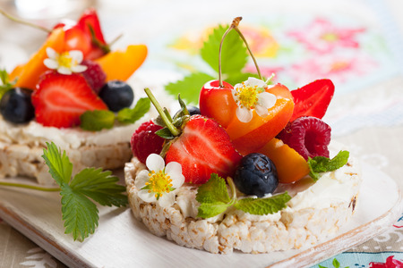 Fruity Rice Cakes