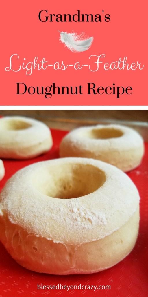 Grandma's Light-as-a-Feather Doughnut Recipe