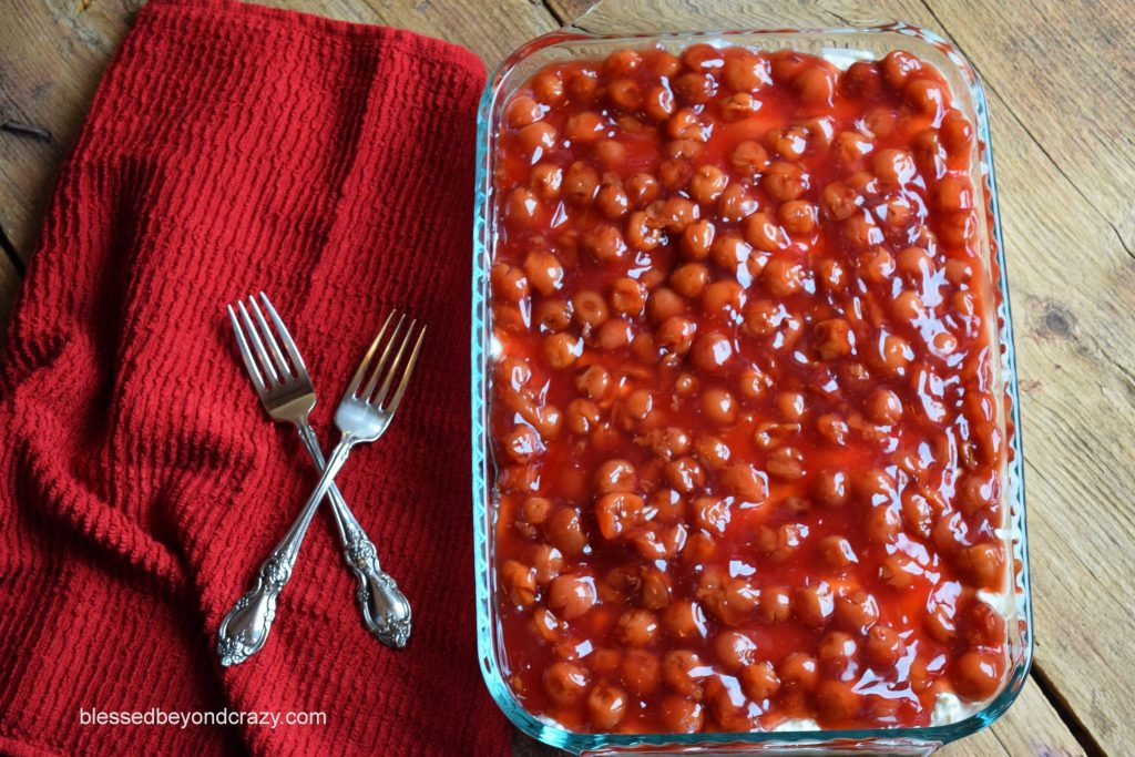Berries-in-the-Snow Dessert