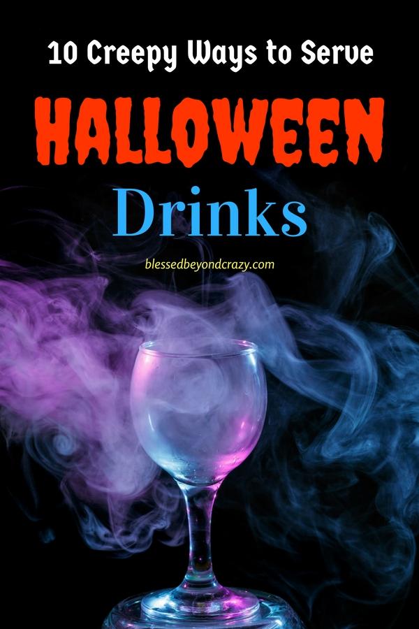 10 Creepy Ways to Serve Halloween Drinks