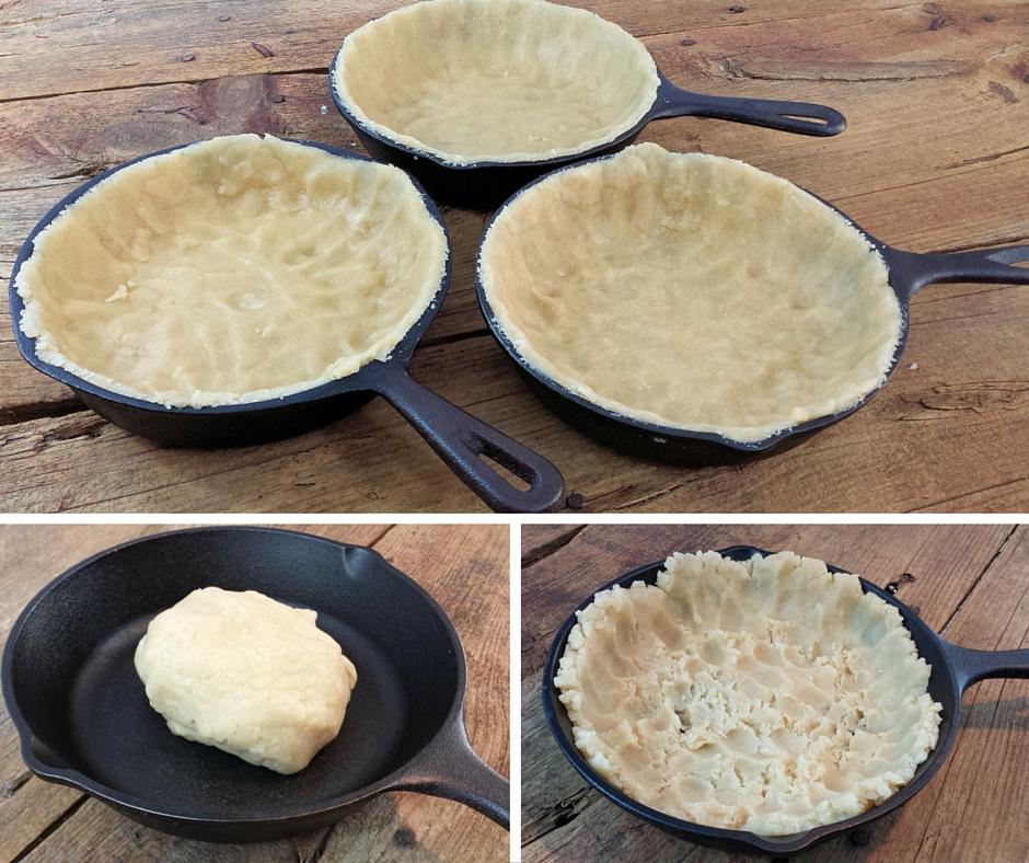 Rustic Cast Iron Skillet Apple Pie