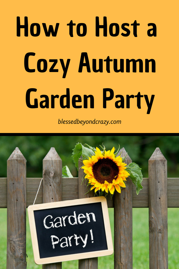 How to Host a Cozy Autumn Garden Party