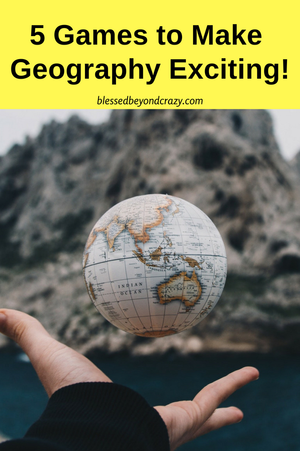 5 Games to make Geography Exciting! -