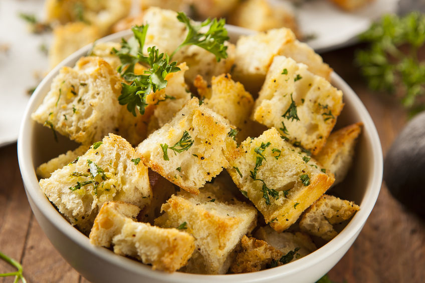 Restaurant-Style Homemade Croutons