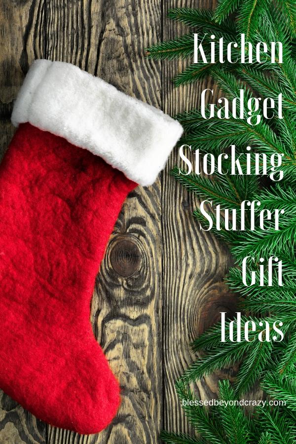 Kitchen Gadget Stocking Stuffer Gift Ideas