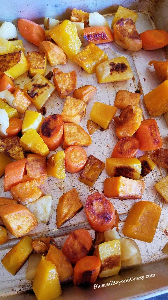 Baked Healthy Sheet Pan Roasted Vegetables