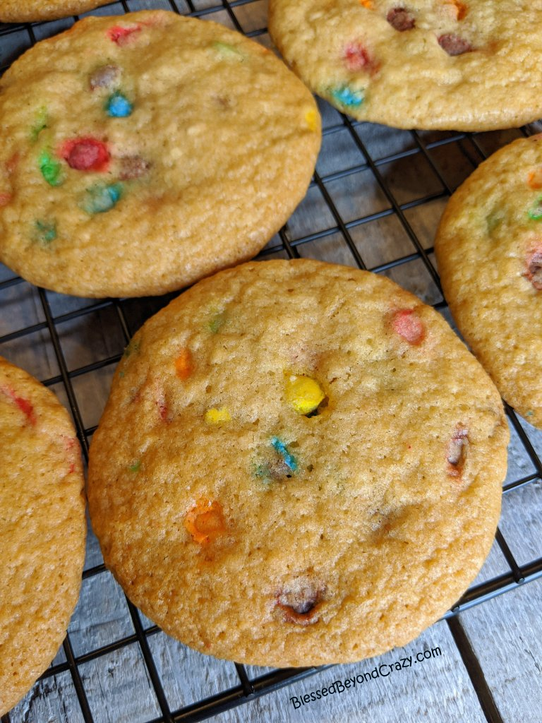 Close-up of cooling Kid's Favorite Gluten-Free Cookies