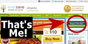 Eversave Atlanta Blogger of the Week