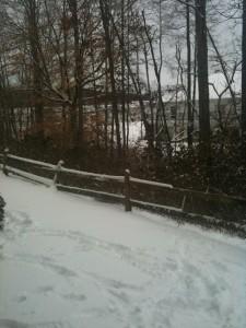 Snow storm in north GA