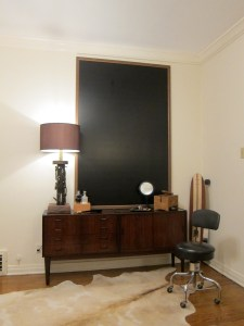 DIY: Gentleman's Valet Wall Project by Kristan Cunningham