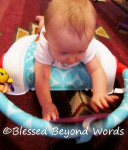 The Infantino Right Angle Tummy Triangle Makes Tummy Time Fun {Review}