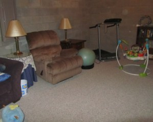 Brother P-Touch Challenge: The Results – A Basement Makeover