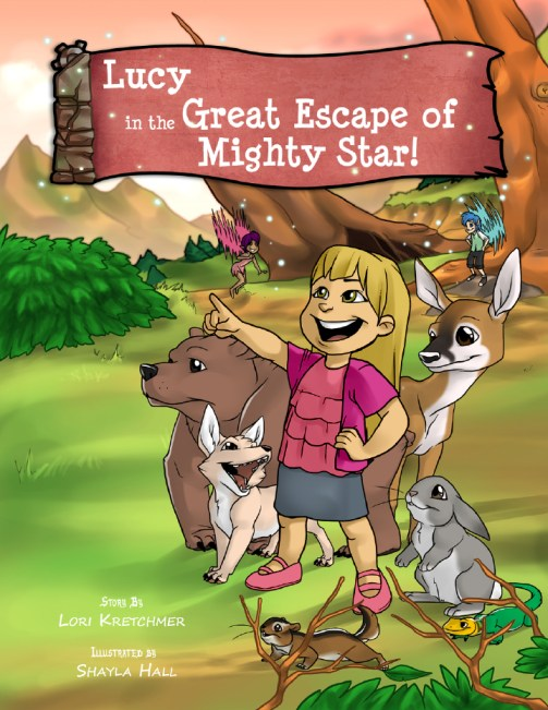 Lucy in the Great Escape of Mighty Star