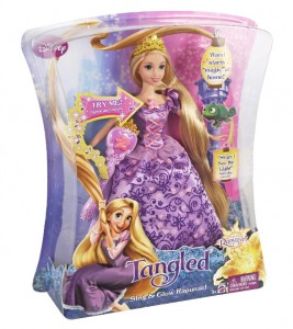 sing and glow rapunzel