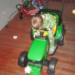 Parker's tractor