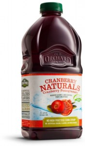 Cranberry Naturals from Old Orchard {Ends 2/28}