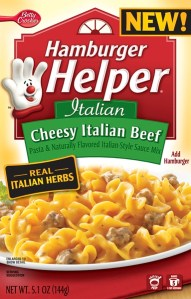 """What's for Dinner?"" It's Hamburger Helper! { #MyBlogSpark Ends 4/6}"
