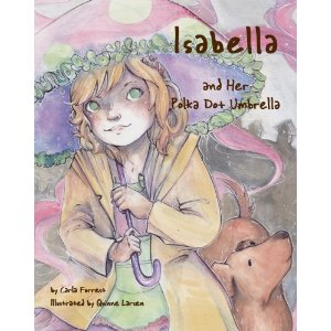 """Isabella and Her Polka Dot Umbrella"" {Childrens Book Review}"