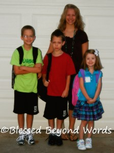 Helping My Children to Be Independent (Back to School!)