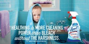 LYSOL – Not Just Cleaning, but Healthing