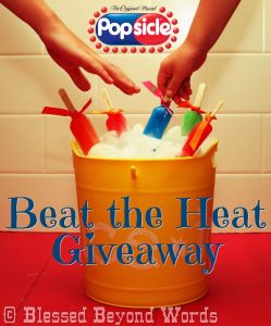 Beat the Heat with @Popsicle #Giveaway #Sponsored {Ends 8/17}