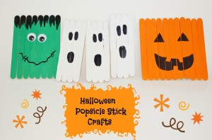popsicle halloween crafts
