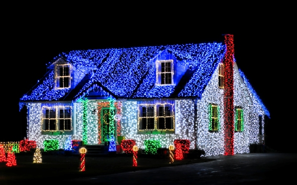 create your own christmas light show set to music blessed beyond words blessed beyond words
