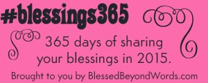 Join Me and Share Your #Blessings365