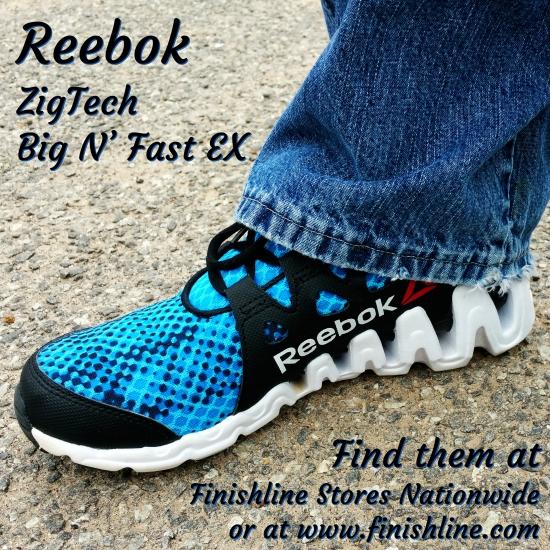 Reebok ZigTech Big N' Fast EX