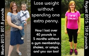 Lose Weight Without Spending One Extra Penny