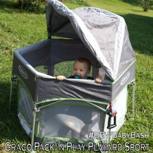 #Sponsored #BBWBabyBash: Graco Pack 'n Play® Playard Sport™ #Review