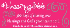Rejoice in His Blessings this Year. Join Me in #Blessings366