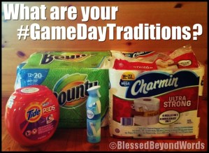 #AD: Keeping Our #GameDayTraditions FUN! @SheSpeaksUp @ProcterGamble @Walmart