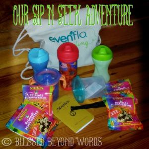 #Spon: Our Sip & Seek Adventures with @EvenfloBaby